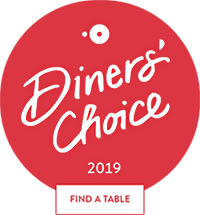 Open Table Diners' Choice 2019 Winner